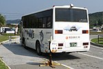 Saiseitan Kanko bus at Yonaguni Airport rear.jpg
