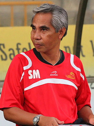 Salim Moin - Salim Moin with Woodlands Wellington in 2012.