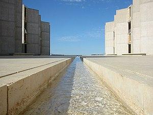 Salk Institute for Biological Studies - Courtyard rill fountain