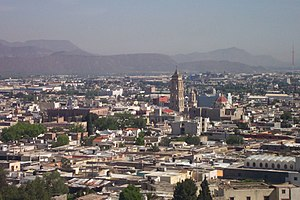Coahuila - Saltillo, the capital of Coahuila.