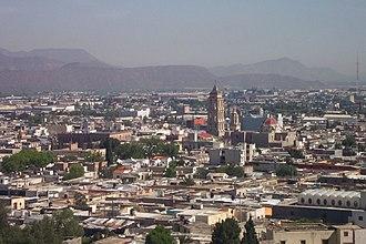 Coahuila - Saltillo, the capital of Coahuila.