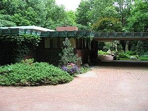 Samara (house) - Image: Samara (John E Christian House) Entrance