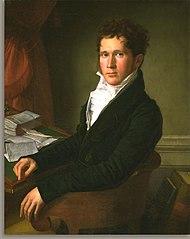 Portrait of Sampson Vryling Stoddard Wilder
