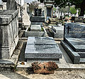 Samuel Beckett's Grave In Montparnasse Cemetery, Paris April 2014.jpg
