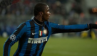 2010–11 Coppa Italia - Samuel Eto'o, top scorer with five goals and man of the match in the final