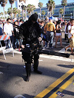 File:San Diego Comic-Con 2011 - Zombie Walk - ready to gun down some zombies (6004552100).jpg