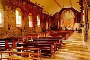 Tumauini, Isabela - San Matias Church interior