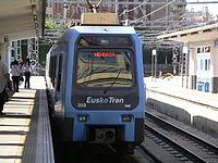 San Sebastian Eusko Tren station.JPG