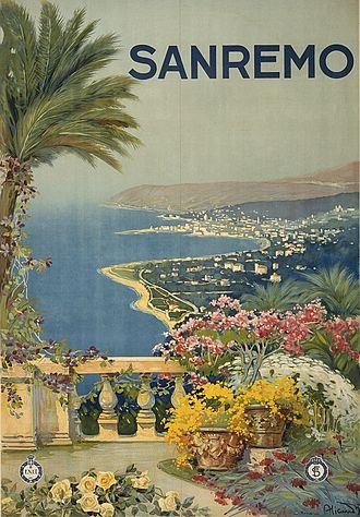 Sanremo - Sanremo postcard from the 1920s