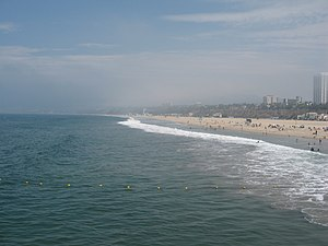 Membership discrimination in California social clubs - Santa Monica Beach