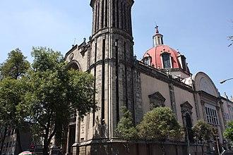 """San Miguel Chapultepec - Santuario Parroquial de Nuestra Señora del Carmen """"La Sabatina"""""""