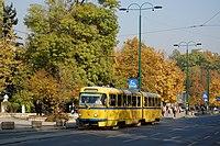 Sarajevo Tram-289 Line-2 2011-10-31 (4).jpg