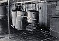 Sarawak; beehives hanging in a Sea Dayak's house. Photograph Wellcome V0037474.jpg