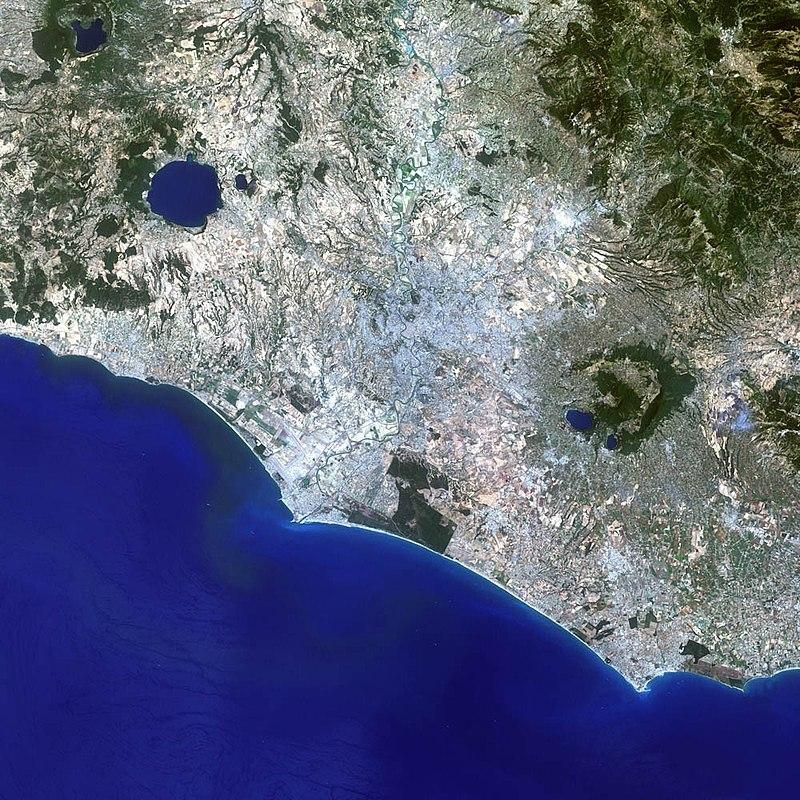 Satellite view of Rome 2001.jpg
