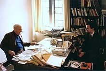 Saul Bellow and Dejan Stojanovic 1.jpg