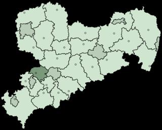 Chemnitzer Land District in Saxony, Germany