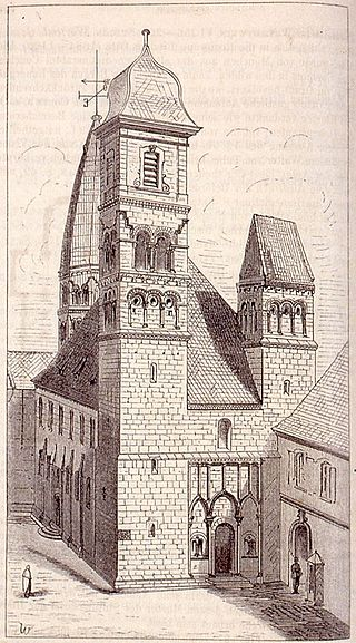 Schlettstadt. S. Fides. Ansicht