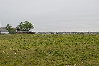 Plain Township, Franklin County, Ohio - Fields along Schott Road