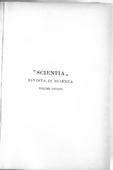 File:Scientia - Vol. VIII.djvu