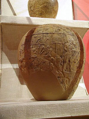 Scorpion Macehead - Scorpion macehead (Ashmolean Museum)