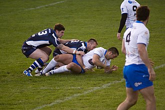 Derwent Park - Scotland vs. Italy at Derwent Park, Workington. The game finished 30–30.