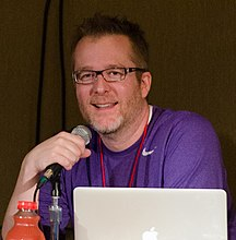 Scott Johnson (cartoonist) at Nerdtacular 2013.jpg