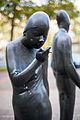 Sculpture Die Begegnung Waldemar Otto Hildesheimer Strasse Hanover Germany 03.jpg
