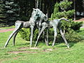 Sculptures in the Silesian Zoological Garden 04.JPG