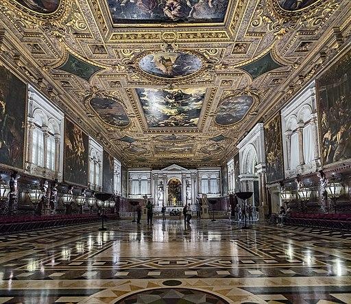 Scuola Grande di San Rocco Venice - Il Salone Maggiore