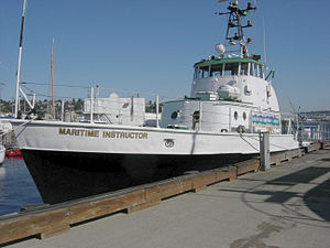 Seattle Central College - The Seattle Maritime Academy operated ship Marine Instructor