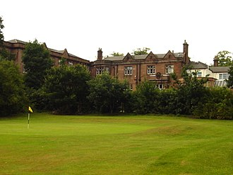 Bowring Park, Knowsley - Image: Second green, Bowring Park golf course geograph.org.uk 37221