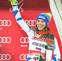 Second place, Petra Vlhova.jpg