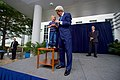 Secretary Kerry Lends a Microphone to a Youngster Whose Parents Work at U.S. Embassy Abuja (28917363150).jpg
