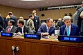 Secretary Kerry Sits with Ban Ki-moon, Isaac Herzog and Danny Danon Before Delivering Speech at U.N. Herzog Commemoration in New York (22767615990).jpg