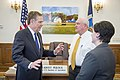 Secretary Perdue meets Ambassador Lighthizer 20170523-OSEC-PJK-0029 (34847646675).jpg
