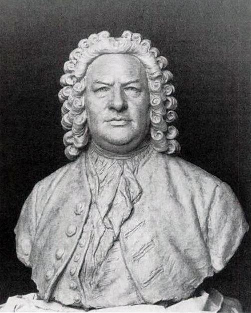 Seffner - Busto de Bach - 1895