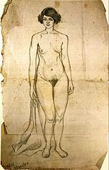 Selfportrait (nude)