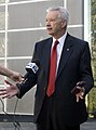 Senator Doug Cameron being interviewed by WIN News.jpg