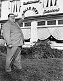 Serie dikke man te Doorn, zwaarste man van ons land, taille 2 meter, 46 jaar, 40, Bestanddeelnr 907-4216.jpg