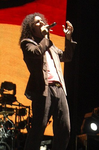System of a Down - Serj Tankian has gained a reputation for his large vocal range along with his unusual delivery.