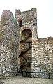 Serravalle Pistoiese, rocca nuova (rocca di Castruccio), torre d'angolo sud 01.jpg