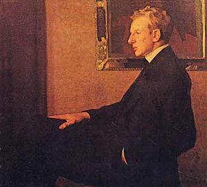 English: portrait painting by Leopold Seyffert...