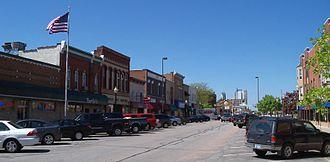 Shakopee, Minnesota - Downtown Shakopee