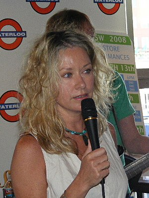 Shelby Lynne - Image: Shelby Lynne talking