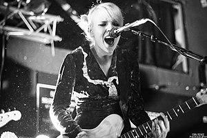 Eisley - Sherri DuPree-Bemis of Eisley performing live in Boston, MA