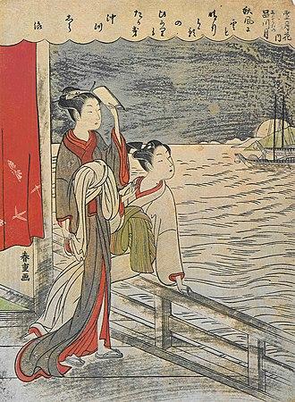 Shiba Kōkan - Image: Shiba Kôkan Shinagawa Mond
