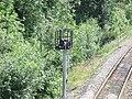 Shirley Station, Haslucks Green Road, Shirley - New signal (4746705238).jpg