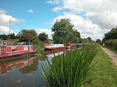 Shropshire Union Canal Moorings - geograph.org.uk - 34718.jpg