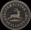 Siegelmarke Bürgermeister Amt St. Blasien W0310018.jpg