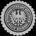 Siegelmarke Bürgermeisteramt Büllingen Kreis Malmedy W0383364.jpg